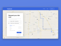 Ride Booking Webapp Design