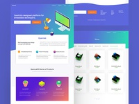 Openlab Landing Page