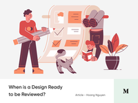 #Article 4 - When is a Design Ready to Deliver? ready checklist design article medium