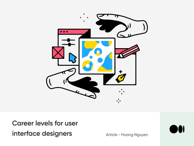 #8 - This article may help you level up UI Design ui design level article medium blog illustration design ux ui