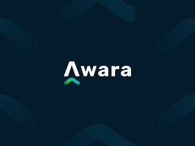 Awara - Crypto Alert - Branding Design visual ui crypto coin bitcoin alert symbol branding website logo