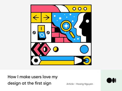 #15 10 Psychological rules to make users love at first sign tips blog animation medium story emotion illustration rules psychology design