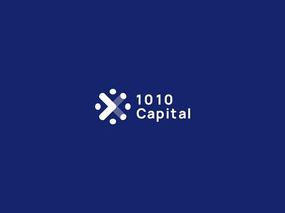 Capital Logo fintech capital symbol mark fireworks celebrate network arrow grow team logo