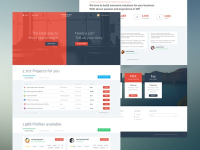 FreelanceEngine Wordpress Theme