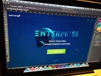 Enterprise Landing Page (W.I.P)