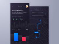 Traffic Flow Tracking App