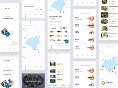 Fishing Application Concept