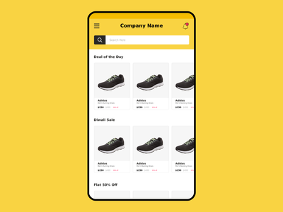 E Commerce UI Design