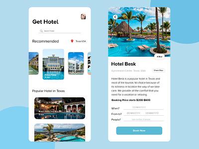 Hotel Reservation App minimalistic clean design adobe xd design illustration bangladesh social app chittagong hotel booking clean ui booking hotel app booking app finding hotel app travel app hotel app