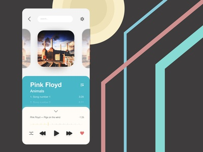 Daily UI 9 — Music player