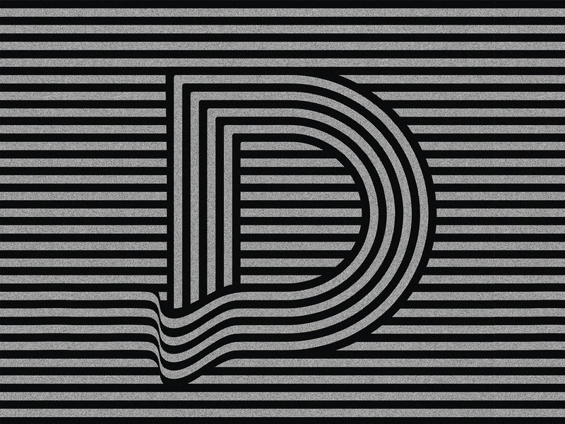 36daysoftype challenge 2020 letter D.