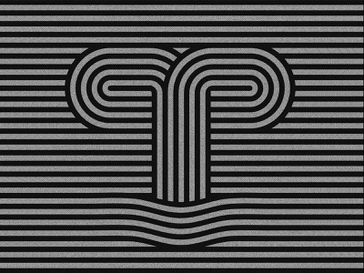 36daysoftype challenge 2020 letter T. typo logo logos concept design badge design typogaphy logotype 36daysoftype 36 typography design graphic design