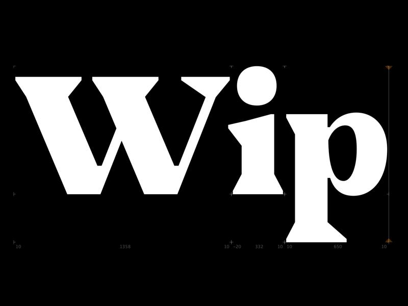 Typeface in progress new work in progress graphic design typography typeface