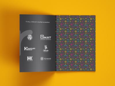 Portfolio Catalogue wacom adobe typography colors brand identity brand pattern logotyp logo designer polish designer graphic designer design purple blue yellow pink catalogue portfolio grafitova