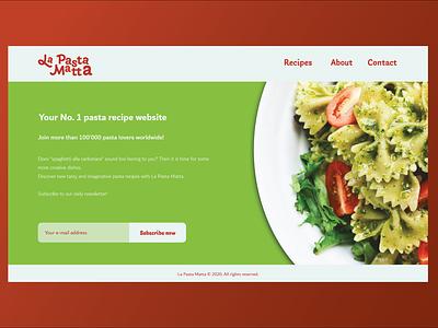 Design challenge - Landing page adobe xd web design landing page design challenge