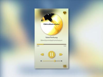 Design challenge - Music player music player ui player ui music app design challenge ui