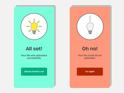 Design challenge - Alert messages alert illustration illustrator cc design challenge
