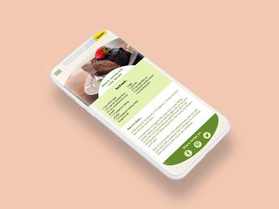 Daily UI Challenge #010 Social Share recipe card recipe ui dailyui