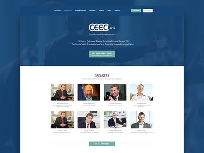 Conference web conference web webdesign flat blue dark picture