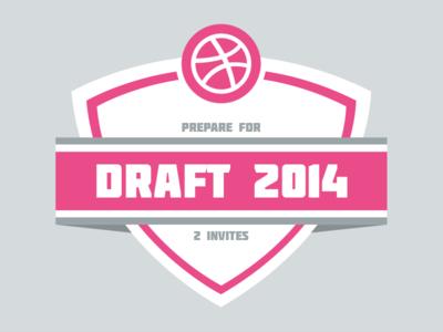 2 invites dribbble invite draft prospects