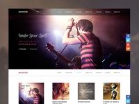 Music band web