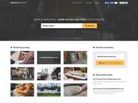 Stock photos database