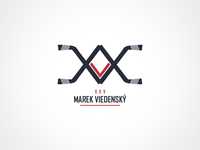 Hockey player personal logo