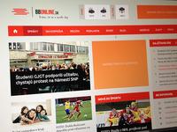 News portal redesign