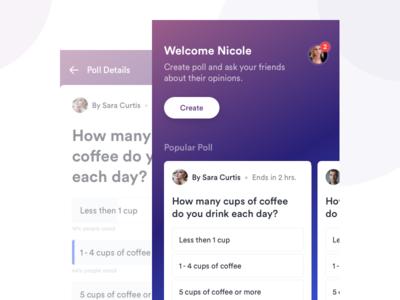 Poll app design