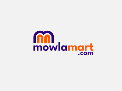 mowlamart.com' a Pabna (Bangladesh) based e-coomerce site. The c flat logotype minimal business logo illustrator logo logodesign clean identity branding