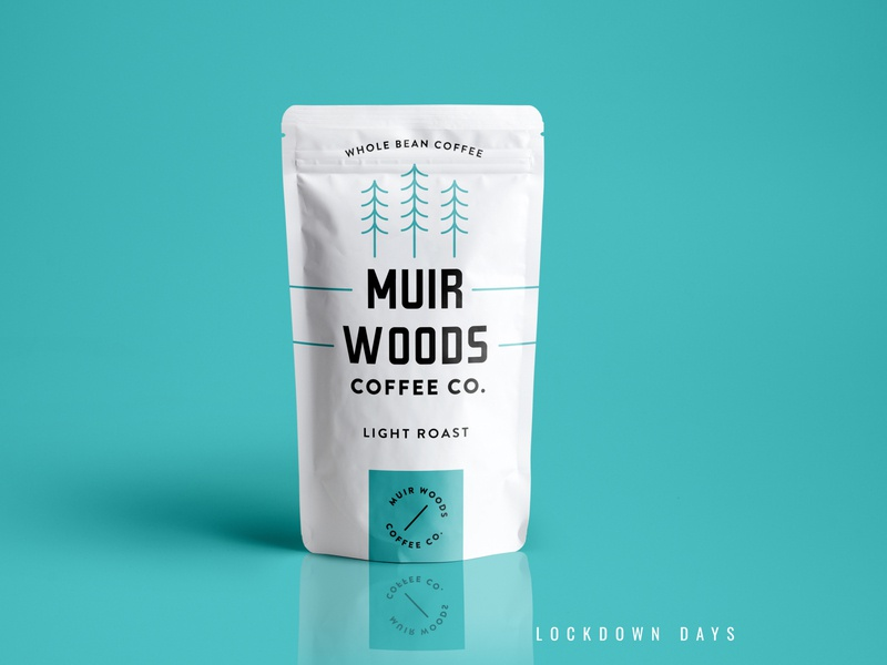 Coffee Pouch Packaging in Lock down Days ! design logo branding concept branding and identity branding design package clean identity branding minimal label packaging label design labeldesign packaging design packagedesign packaging