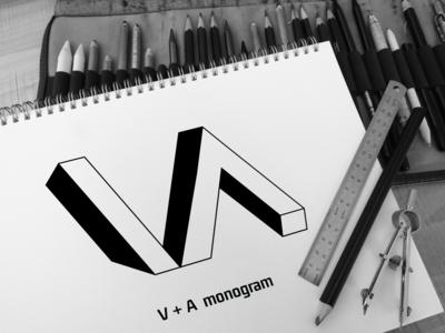 V A Monogram