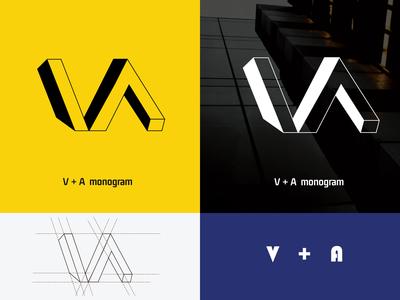 V   A Monogram Logo