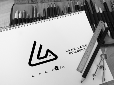 Logo for  LAKE LAND BUILDERS