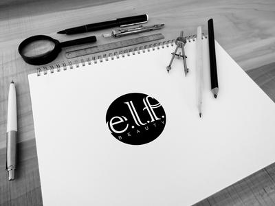 e.l.f  beauty brand logo