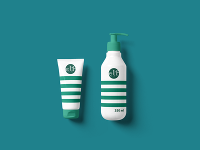 Cosmetics Bottle Mockup