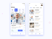 Doctor Appointment Medical App concept.