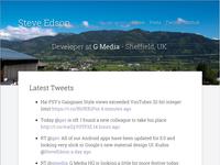 Steve Edson - Personal Site