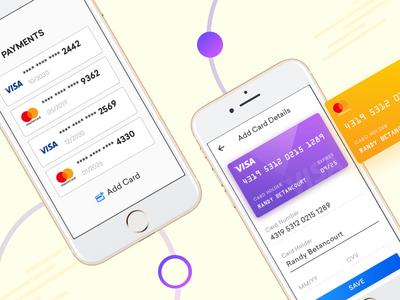 Credit Card Checkout blue transaction creative checkout design add card payment debit card credit card