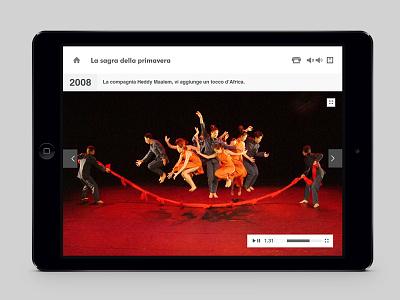 RCS Educational App - Video Screen ipad mini retina portrait landscape device educational mobile ipad iphone app
