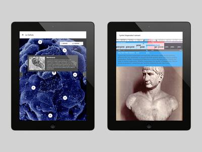 RCS Educational App - Landscape ipad mini retina portrait landscape device educational mobile ipad iphone app