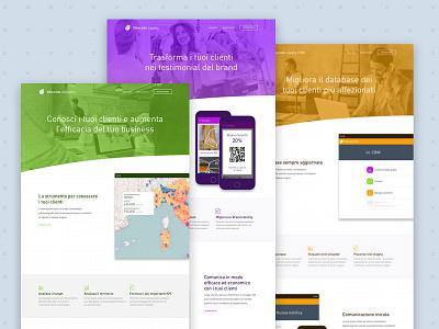Vibecode – Landing pages software framework layout design