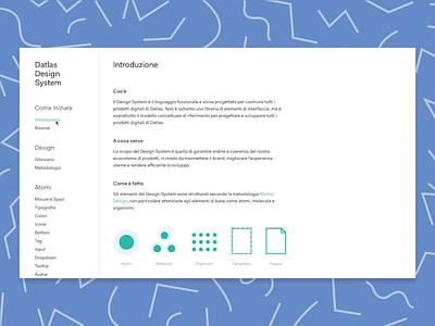 Datlas — Design System ui ux design systems design system