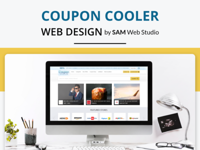 Logo Design + Website Design For CouponCooler