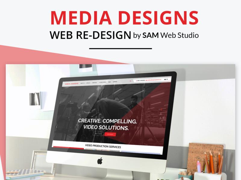 Website Design + Web Development For Media Designs web designer web design web design ideas illustration branding website development website design and development website website concept website design web development