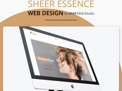 Website Design + Web Development For Shree Essence