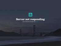 Anchr error screen