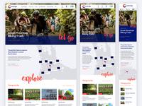 Cambridge homepage responsive