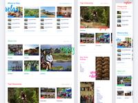 Cambridge directory section grids & colours