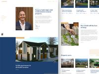 Assured website responsive homepage